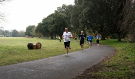 Cardiff Park Run 270 - 13th April 2013